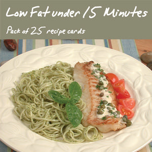 25 Pack - Low Fat & Under 15-Minutes