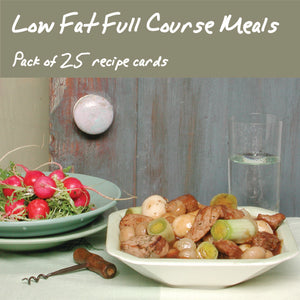 25 Pack - Low Fat Full Course Meals