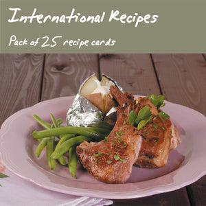 25 Pack - International Gourmet Recipes
