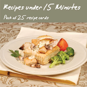 25 Pack - Meals Made In Under 15-Minutes