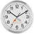 "12"" Metal Wall Clock"