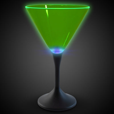 Neon Style Led Martini Glasses