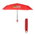 "38"" Arc Clipper Compact Telescopic Umbrella"