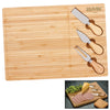 Bamboo Cheese Board Knife Set