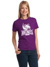 Ladies Cotton T-Shirts - 1 Color Imprint