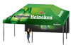 Premium Giant Tent 20'x20' w/ Full Color Canopy and Back Wall