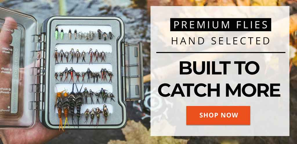 BUILT TO CATCH MORE - BEST FLY FISHING FLIES