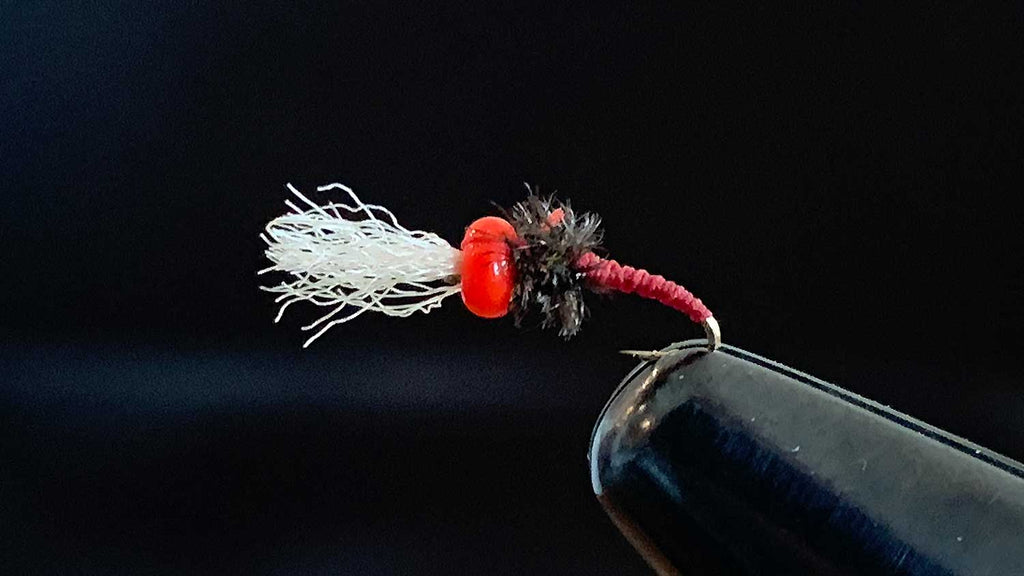 Rojo Midge - Best Winter Fly Fishing Flies