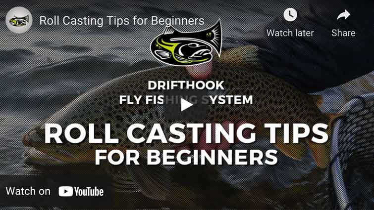Roll casting tips for beginners
