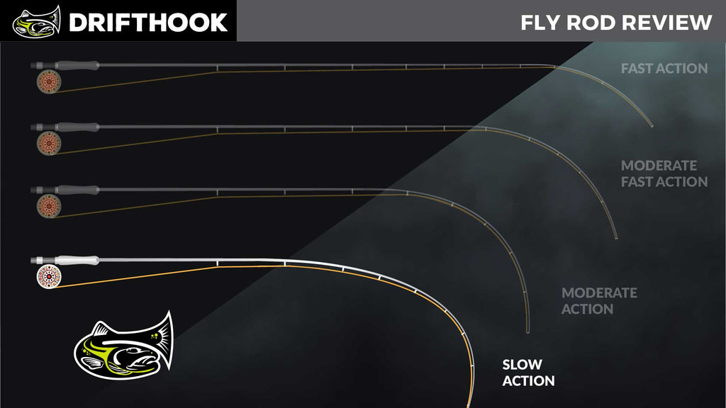 Slow Action Fly Rod Infographic Drifthook Fly Fishing