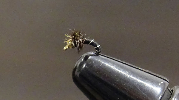 Tungsten Bead-head Zebra Midge
