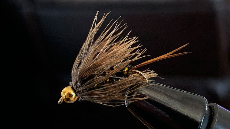 Size of fly fishing fly