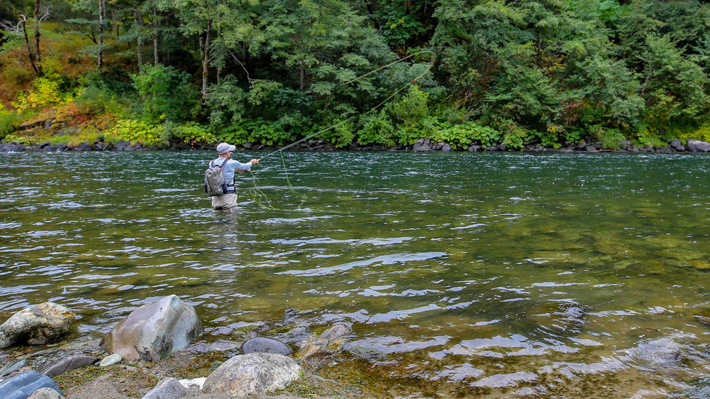 Man Dry Fly Fishing