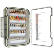 Drifthook | Pro Emergers Fly Fishing Kit, 80 Flies, Double Sided Fly Box and Guide | Fishing - Drifthook