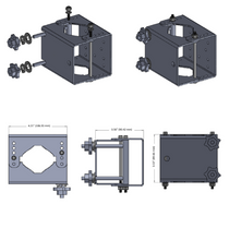 Load image into Gallery viewer, The Claw Universal Antenna Mounting Bracket