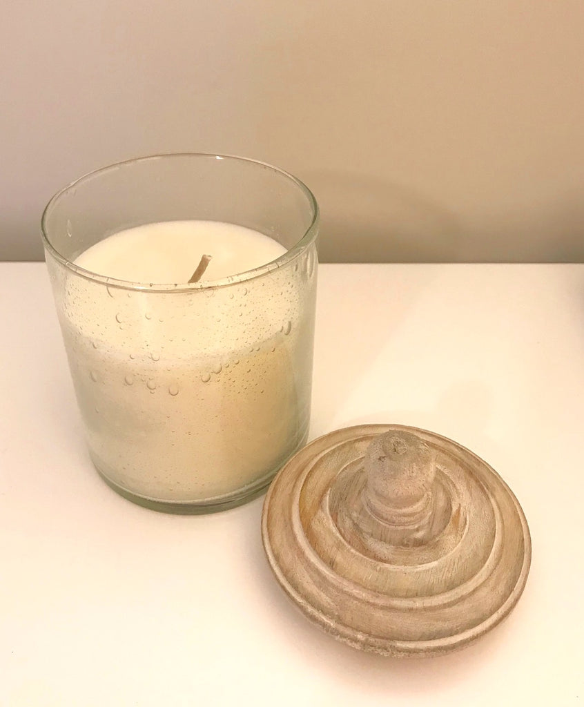 Gray Oak, #8 Joy Candle