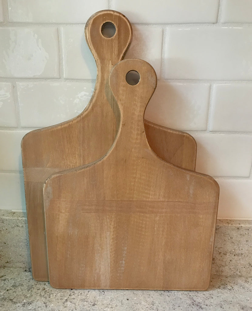 Antique Short Cutting Board (Small or Large)