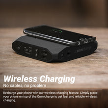 Load image into Gallery viewer, Omni Charge 20+ Power Bank Bundle with AC Power Supply and Carrying Case - HD Source