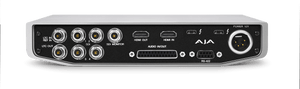AJA IO-4K-PLUS-R0 12-bit 4K/UltraHD/HD I/O via Thunderbolt 3, with 12G-SDI and HDMI 2.0 I/O, AC adapter (Thunderbolt cable not included) - HD Source