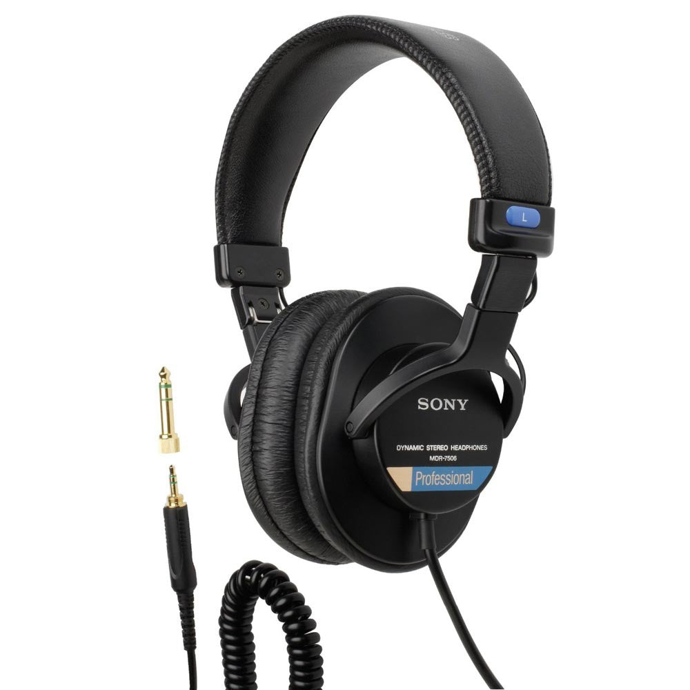 Sony MDR7506 stereo professional headphones - HD Source