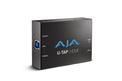 AJA U-TAP-HDMI-R0  HD/SD USB 3.0 capture device for Mac/Windows/Linux with HDMI input - HD Source