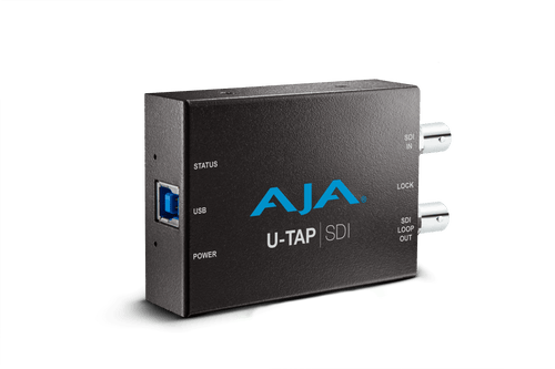 AJA U-TAP-SDI-R0 HD/SD USB 3.0 capture device for Mac/Windows/Linux with 3G-SDI input - HD Source