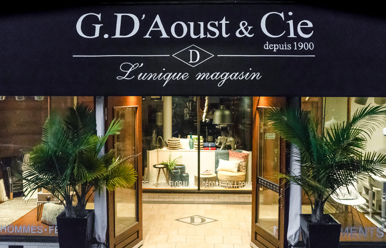 Magasin G, D'aoust et Cie - West Island Montreal Furniture and fashion store