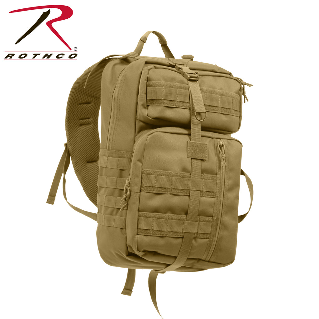 Rothco Tactisling Transport Pack - Coyote Brown - Eminent Paintball And Airsoft