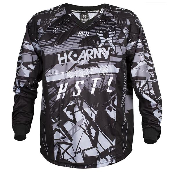 HSTL Line Jersey - Charcoal - Black/Grey - Eminent Paintball And Airsoft