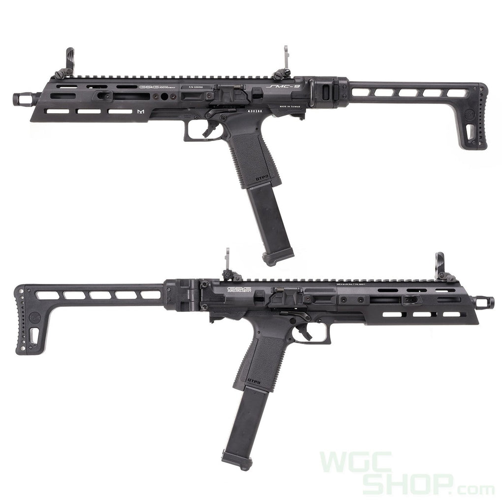 G&G Armament SMC-9 Gas Blowback Pistol Caliber Carbine - Eminent Paintball And Airsoft