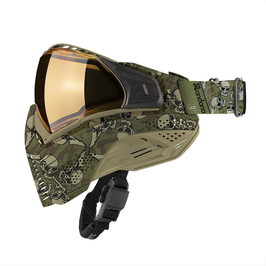 Push Unite Goggles - Sandana Olive - Eminent Paintball And Airsoft