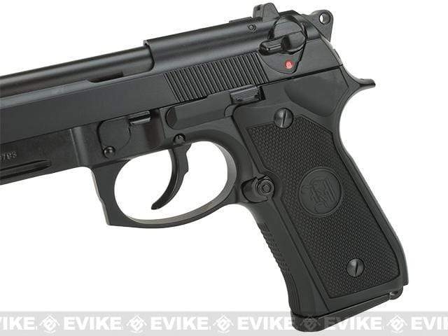 KJW M9A1 Gas Blowback Airsoft Pistol (Color: Black) - Eminent Paintball And Airsoft