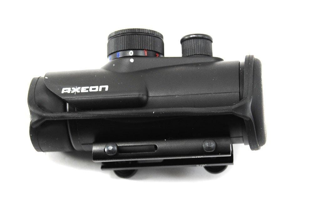 Axeon Trisyclon - Red/Green/Blue Dot Sight Shooting Optic - Eminent Paintball And Airsoft