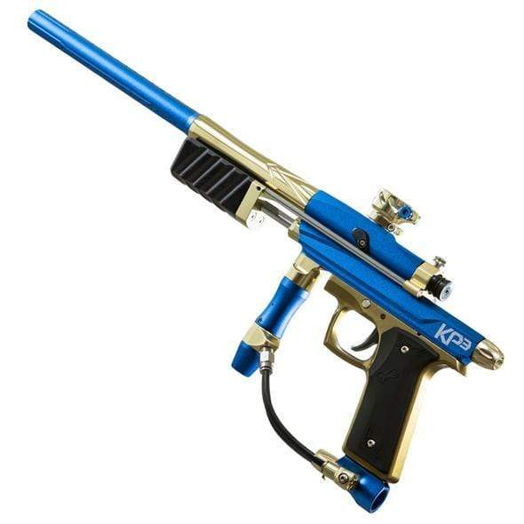 KP3 Pump Blue/Gold - Eminent Paintball And Airsoft