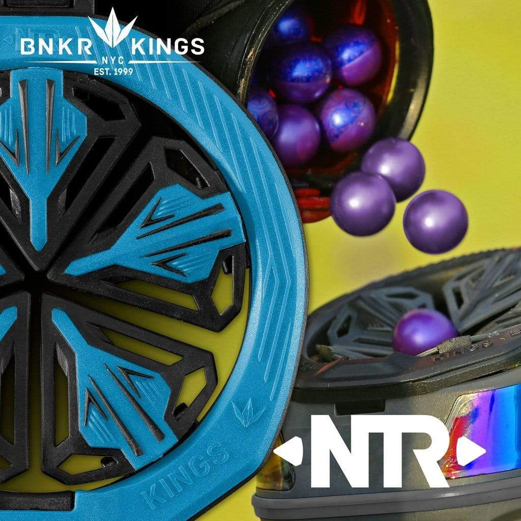 Bunkerkings NTR Speed Feed - Spire III/IR/280 - Blue - Eminent Paintball And Airsoft