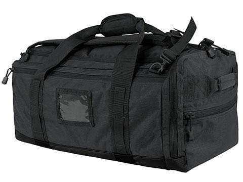 Condor Centurion Duffel Bag (Color: Black) - Eminent Paintball And Airsoft