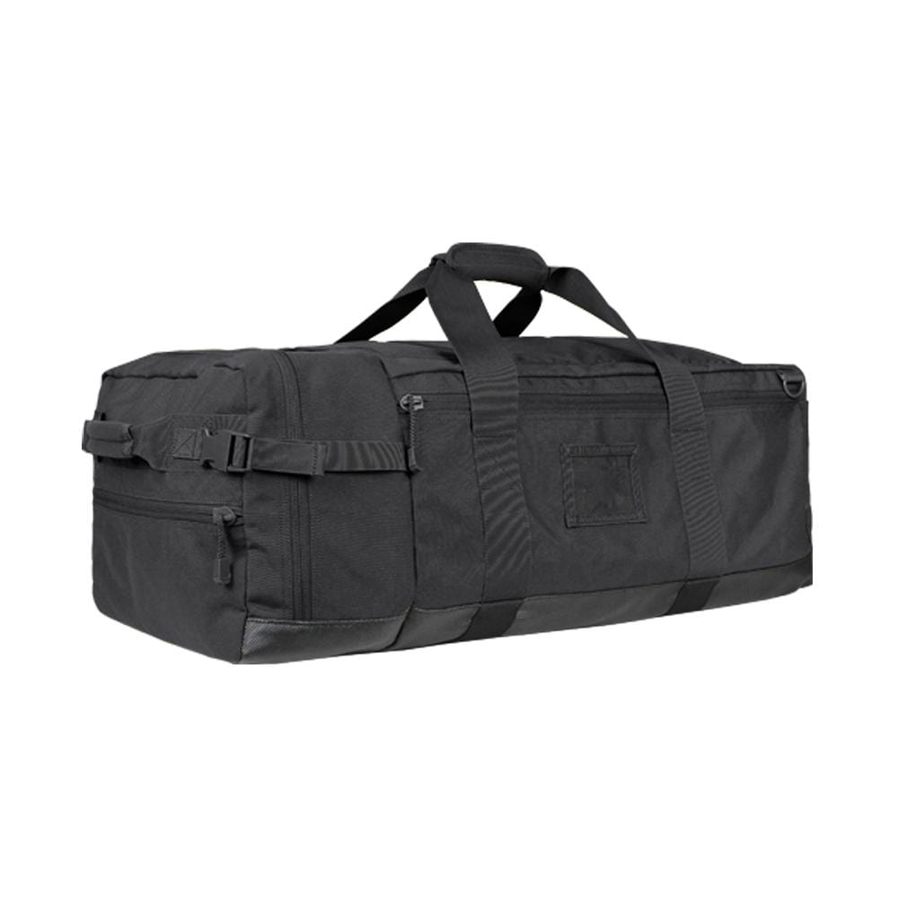 Condor Colossus Duffel Bag (Color: Black) - Eminent Paintball And Airsoft