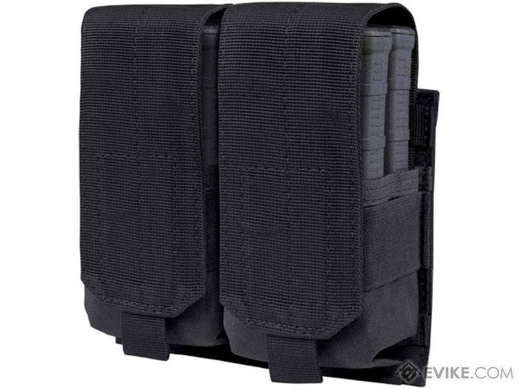 Condor Tactical Double M14 / 7.62 NATO Magazine Pouch (Color: Black) - Eminent Paintball And Airsoft