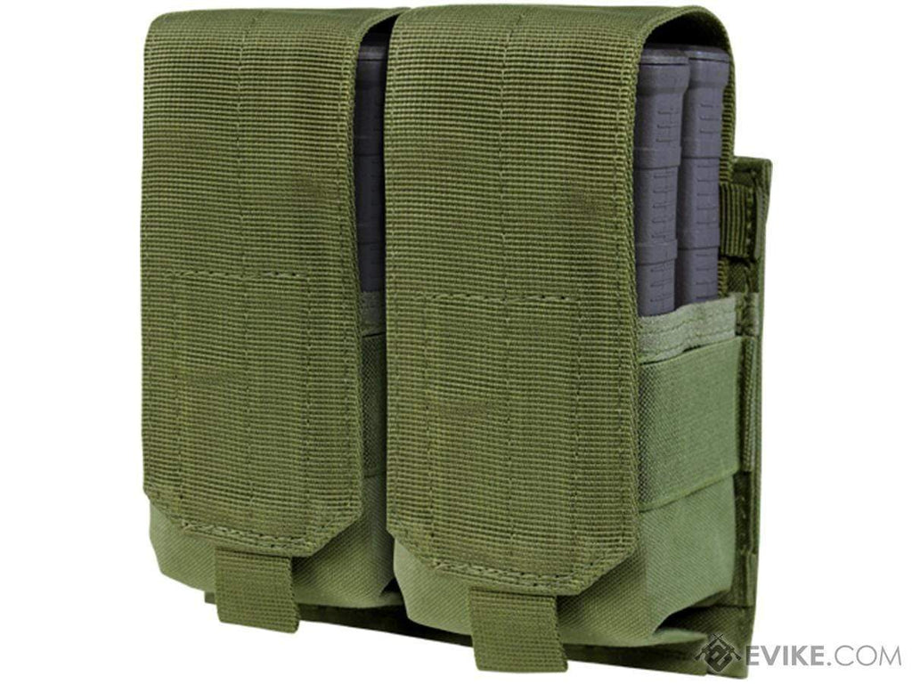 Condor Tactical Double M14 / 7.62 NATO Magazine Pouch (Color: OD Green) - Eminent Paintball And Airsoft