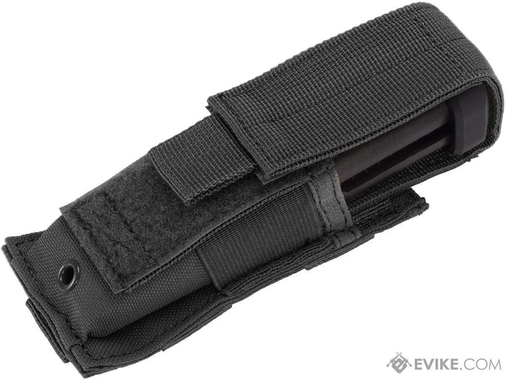Condor Tactical Pistol Magazine Pouch (Color: Black) - Eminent Paintball And Airsoft