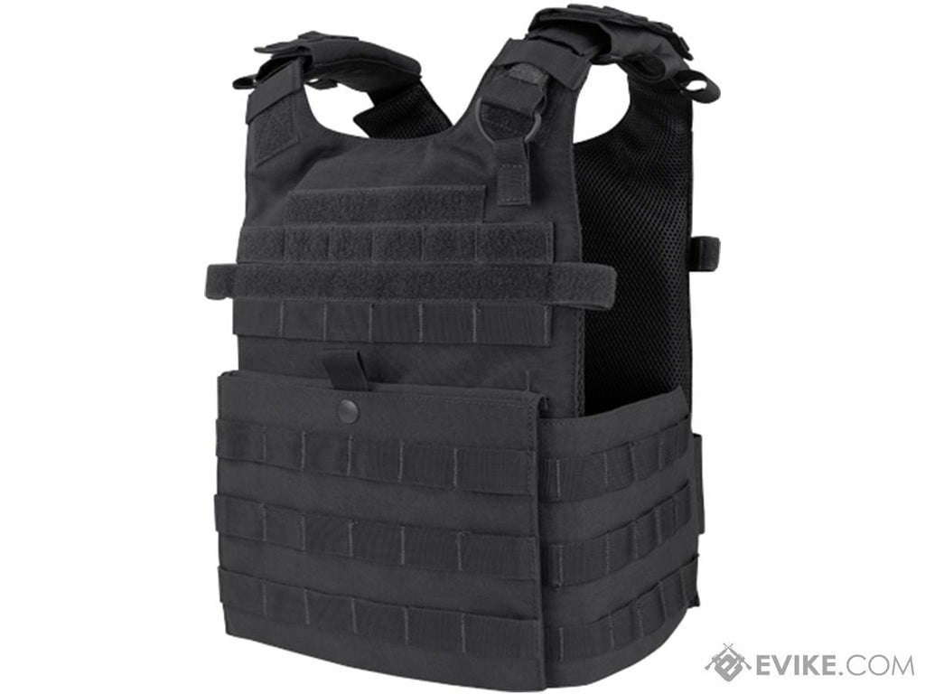 Condor Gunner Plate Carrier (Color: Black) - Eminent Paintball And Airsoft