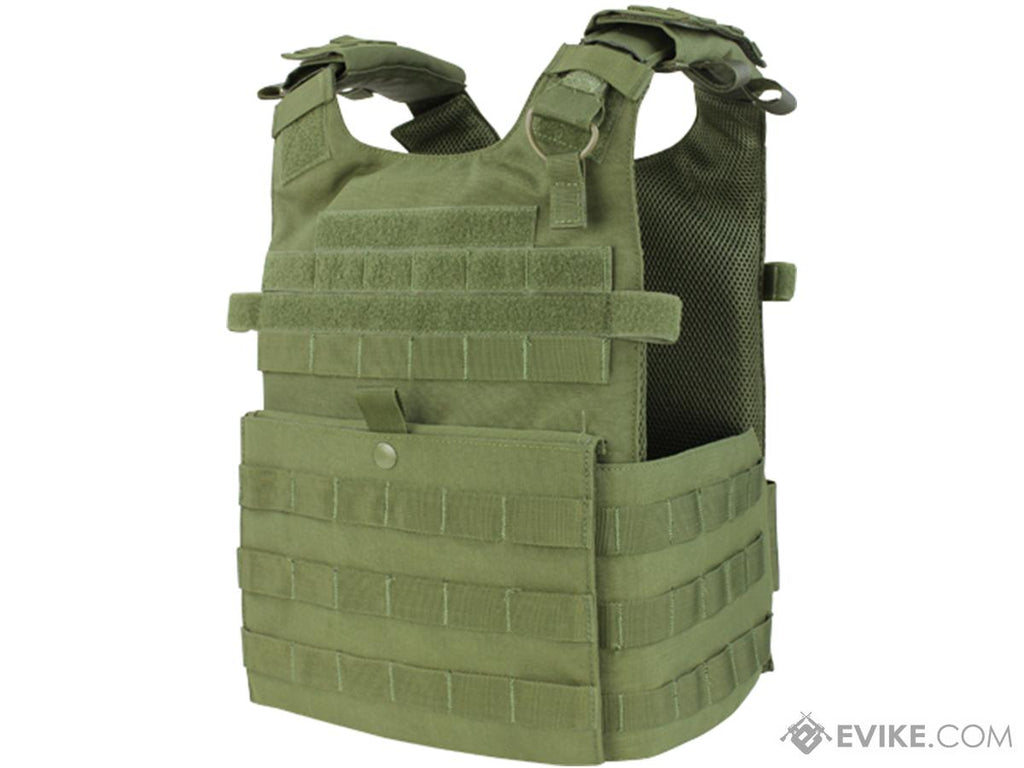 Condor Gunner Plate Carrier (Color: OD Green) - Eminent Paintball And Airsoft