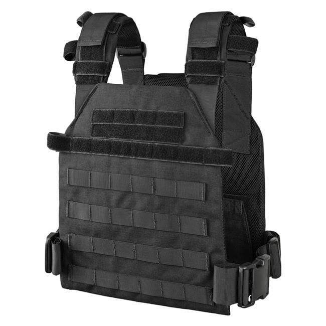 Condor Sentry Plate Carrier (Color: Black) - Eminent Paintball And Airsoft