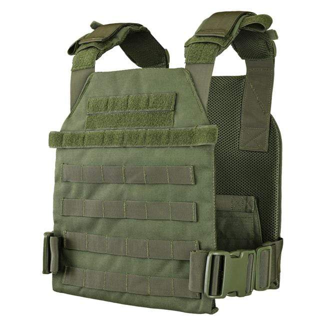 Condor Sentry Plate Carrier (Color: OD Green) - Eminent Paintball And Airsoft