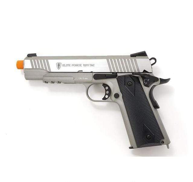 Elite Force 1911 Tactical- Stainless Steel - Eminent Paintball And Airsoft