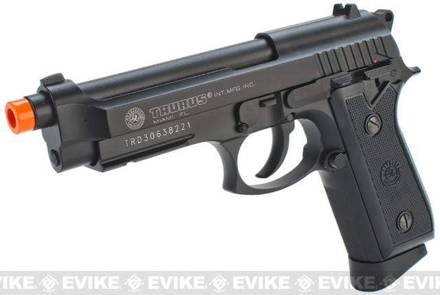 Taurus Licensed PT99 Full Metal M9 Airsoft Gas Blowback CO2 Pistol by KWC - Eminent Paintball And Airsoft