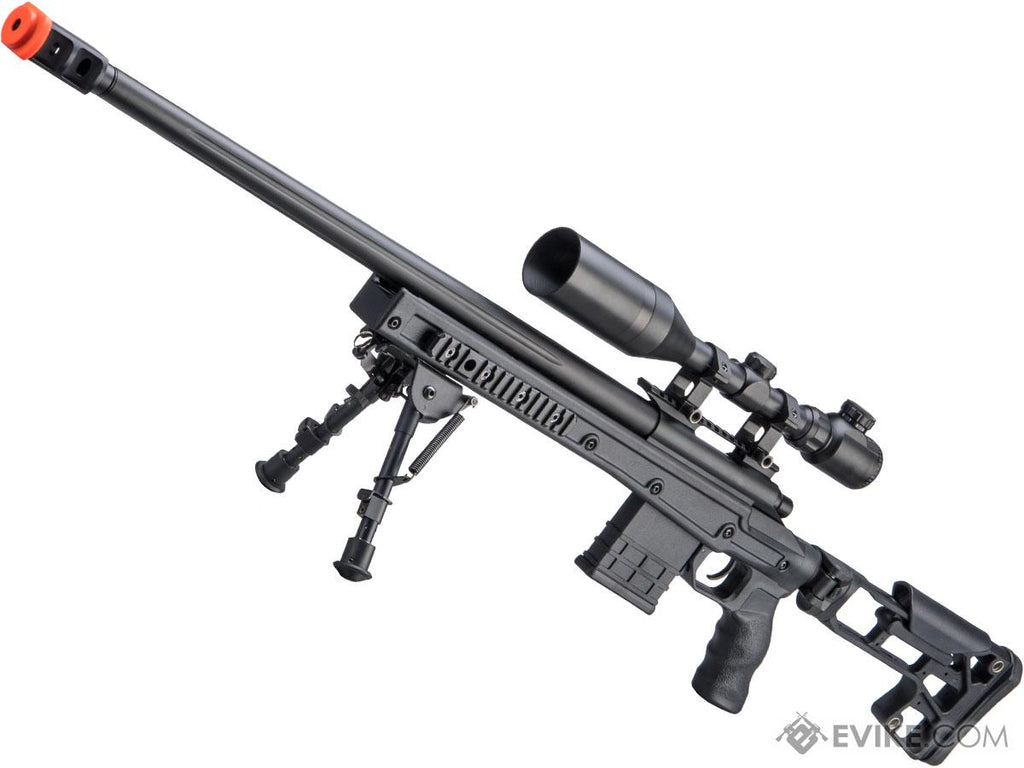 CYMA M700 Tactical Bolt Action Sniper Rifle with Folding Skeletal Stock - Eminent Paintball And Airsoft