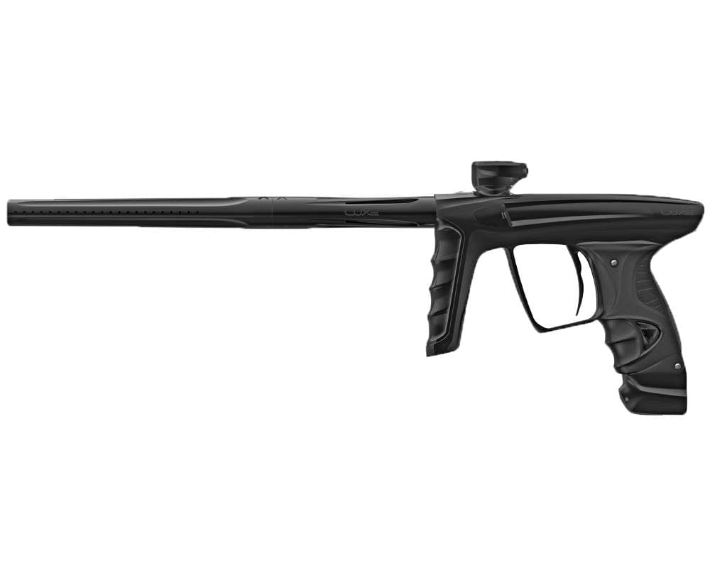 DLX LUXE X PAINTBALL GUN - BLACK/BLACK - Eminent Paintball And Airsoft