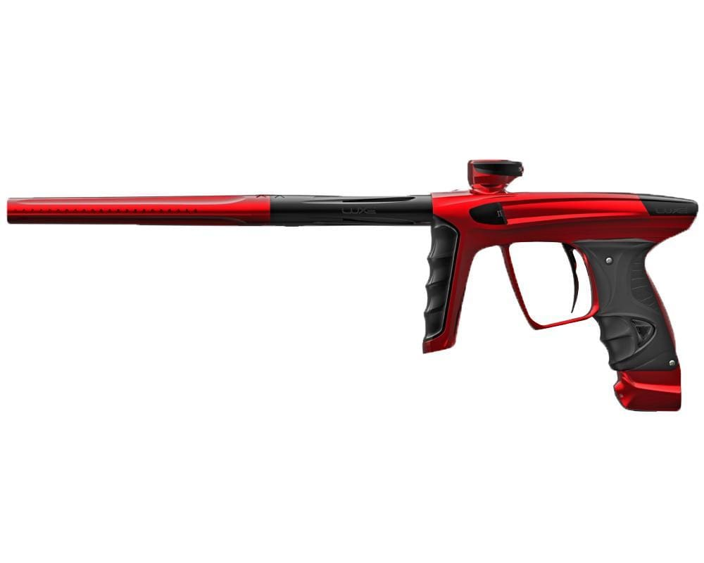 DLX LUXE X PAINTBALL GUN - Red/Black - Eminent Paintball And Airsoft