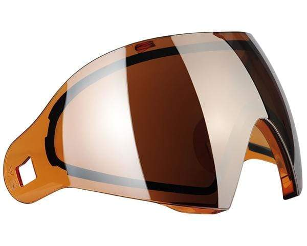 Dye i4/i5 Thermal Lens - DYEtanium Orange Silver - Eminent Paintball And Airsoft